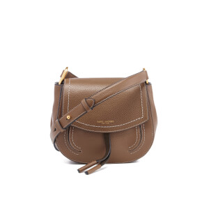 Marc Jacobs Women's Maverick Leather Mini Shoulder Cross Body Bag - Teak