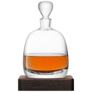 LSA Whisky Islay Decanter & Walnut Base - 1L: Image 2