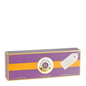 Roger&Gallet Gingembre 3 Soap Coffret