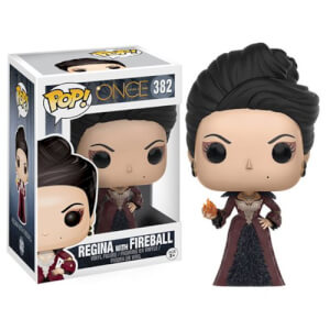 Once Upon A Time Regina with Fireball Funko Pop! Vinyl