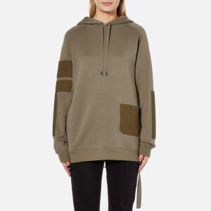 Helmut Lang Women's Patch Pocket Sweatshirt - Vintage Marsh