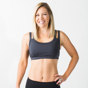 Charcoal Grey Endurance Bra