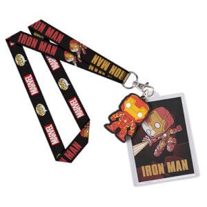 Porte-Clefs Lanière Pop! Iron Man