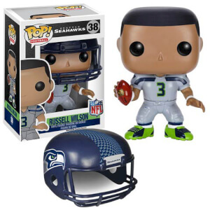 Figurine NFL Russell Wilson 2ème Vague Funko Pop!