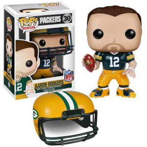 NFL Aaron Rodgers 2ème Vague Figurine Funko Pop!