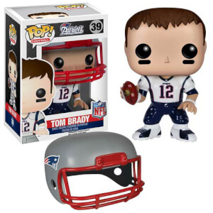 NFL Tom Brady Wave 2 Pop! Vinyl Figur