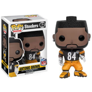 Figura Pop! Vinyl Steelers Antonio Brown Ronda 3 - NFL