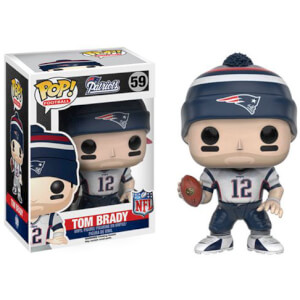 Figurine Pop! NFL Tom Brady 3ème Vague