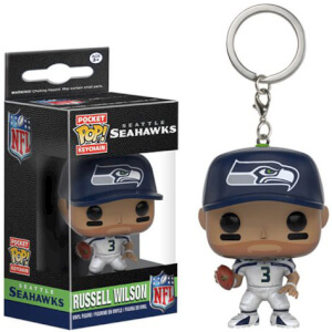 Llavero Pocket Pop! Seattle Seahawks Russell Wilson - NFL
