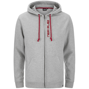 Animal Men's Safou Zip Through Hoody - Grey Marl