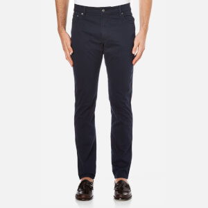 Hackett London Men's Trinity Twill Five Pocket Trousers - Navy