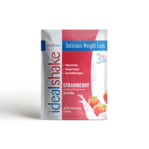 IdealShake Strawberry Sample