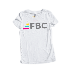 Fit Body Challenge Tee V.1 - White