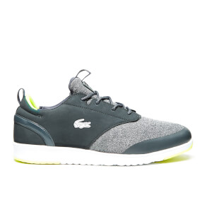 Lacoste Men's L.ight 2.0 WMP SPM Runner Trainers - Dark Grey/Dark Grey
