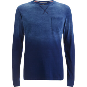 Threadbare Men's Moscow Gradient Sweatshirt - Blue