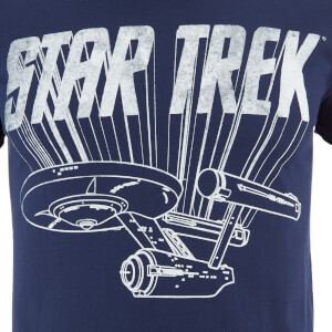 Star Trek Men's Original Enterprise T-Shirt - Black: Image 3