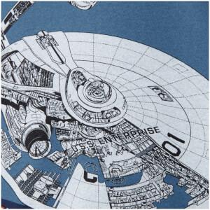 Star Trek Men's Original Enterprise T-Shirt - Black: Image 3