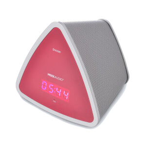Mixx S3 Bluetooth Speaker & Clock - Pink from I Want One Of Those