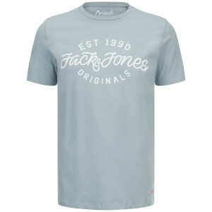 Jack & Jones Men's Originals Finish T-Shirt - Stone Blue
