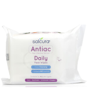 Salcura Antiac Daily Face Wipes (25 Wipes)