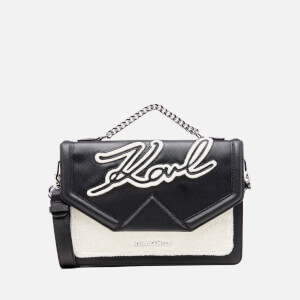 Karl Lagerfeld Women's Holiday Shoulder Bag - Black