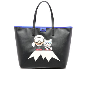 Karl Lagerfeld Women's Mountain Holiday Shopper Bag - Black