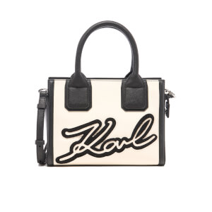 Karl Lagerfeld Women's Holiday Mini Tote Bag - Black