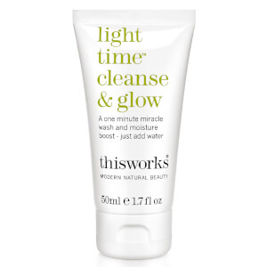 this works Light Time Cleanse & Glow 50ml (Free Gift)
