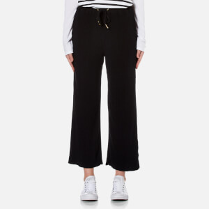 MINKPINK Women's Cropped Drawstring Pants - Black