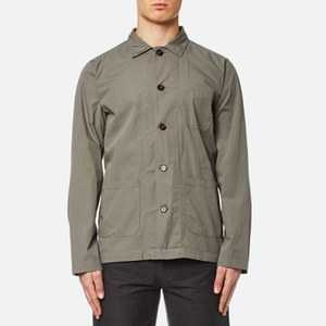 Universal Works Men's Bakers Overshirt - Dk Stone