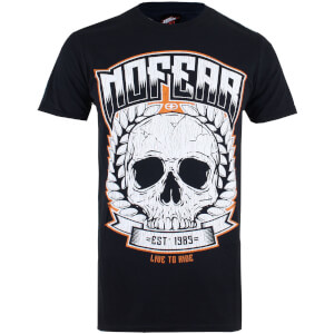T-Shirt Homme No Fear - Noir