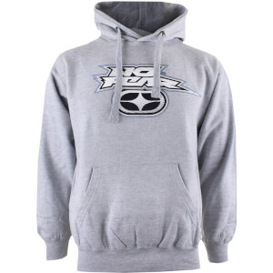 No Fear Men's Reflective Logo Hoody - Sports Grey