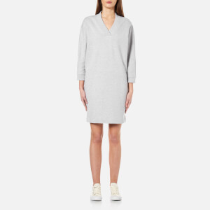 KENZO Women's Kenzo Light Brushed Molleton Dress - Pearl Grey