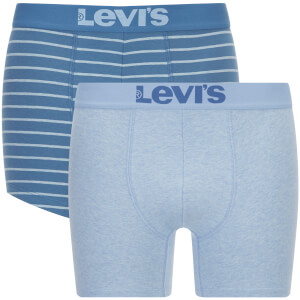 Levi's Men's 200SF 2-Pack Vintage Stripe Boxers - Dark Blue