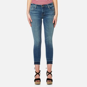 J Brand Women's 835 Mid Rise Crop Skinny Jeans - Corrupted