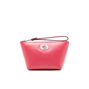Lauren Ralph Lauren Women's Newbury Cosmetic Wristlet Bag - Rouge