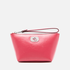 Lauren Ralph Lauren Women's Newbury Cosmetic Wristlet Bag - Rouge