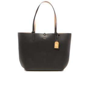 Lauren Ralph Lauren Women's Milford Olivia Tote Bag - Black/Camel