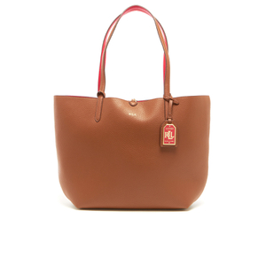 Lauren Ralph Lauren Women's Milford Olivia Tote Bag - Bourbon/Red