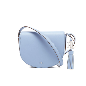 Lauren Ralph Lauren Women's Dryden Caley Mini Saddle Bag - Blue Mist/Marine