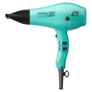 Parlux 385 Power Light Ceramic & Ionic Hair Dryer 2150W - Aquamarine