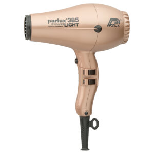 Parlux 385 Power Light Ceramic & Ionic Hair Dryer 2150W - Light Gold