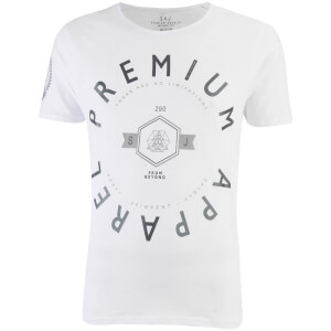 Smith & Jones Men's Kinetic Crew Neck T-Shirt - White