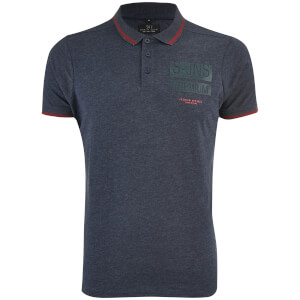 Smith & Jones Men's Albedo Polo Shirt - Navy Blazer Marl