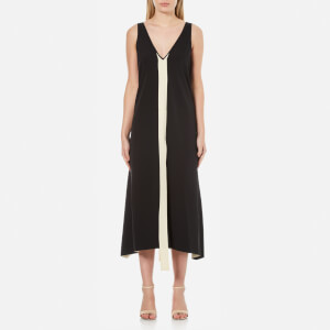 By Malene Birger Women's Awittie Maxi Dress with Centre Stripe - Black