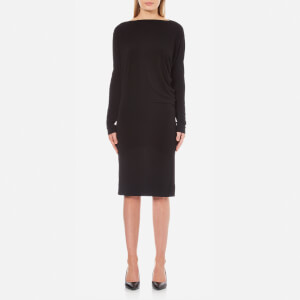 By Malene Birger Women's Finae Long Sleeve Midi Dress - Black