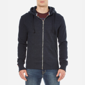 Superdry Men's Orange Label Stealth Zip Hoody - Deep Indigo Slub