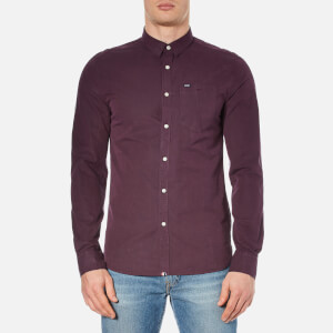 Superdry Men's New Vegas Shirt - Maroon