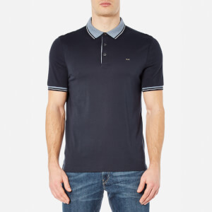 Michael Kors Men's Greenwich Collar Polo Shirt - Midnight