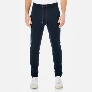 Michael Kors Men's Stretch Fleece Cuffed Joggers - Midnight
